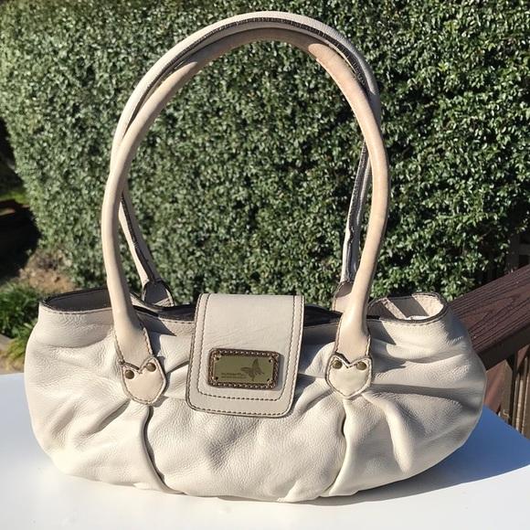 7447b15aa0 Matthew Williamson Bags | Butterfly Beige Leather Satchel | Poshmark